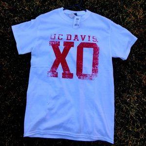NWT uc davis XO UCD cute tshirt 🏈 football 🏈